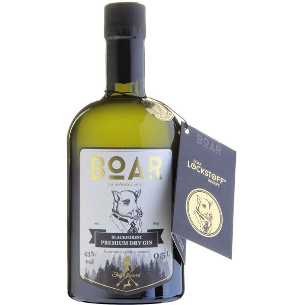 BOAR Premium Dry Gin 43% 0,5l