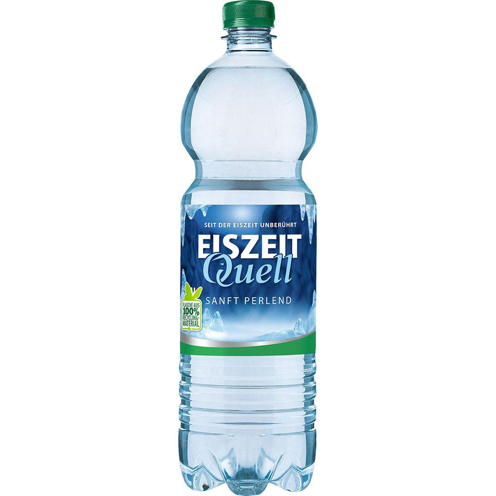 EiszeitQuell SANFT PERLEND Mineralwasser 12x0,7l PET