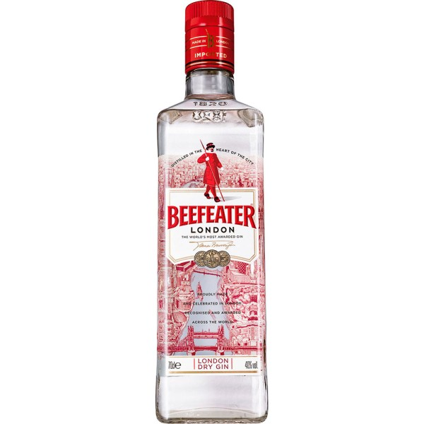 Beefeater London Dry Gin 40% 0,7l