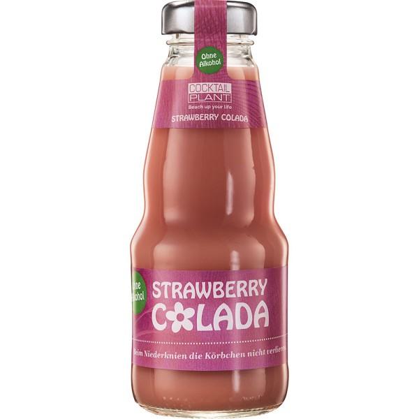 Strawberry Colada Cocktail Plant afG 24x 0,2l Mehrweg