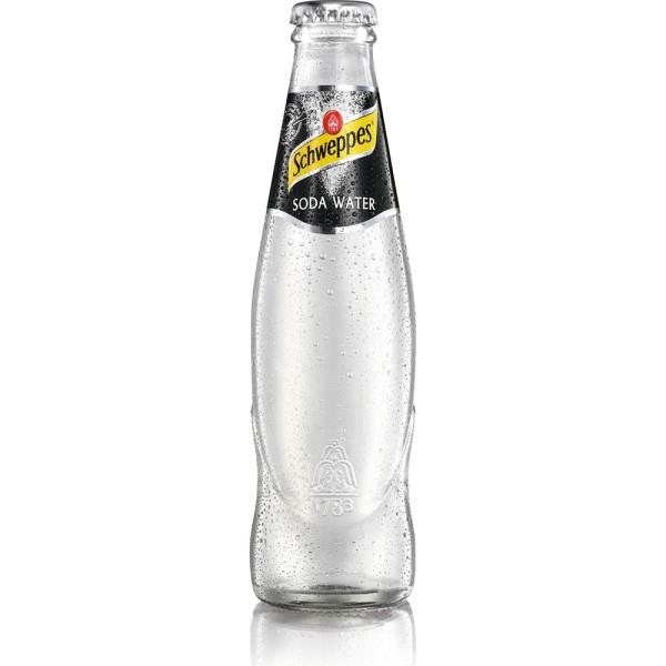 Schweppes Soda Water 24x 0,2l