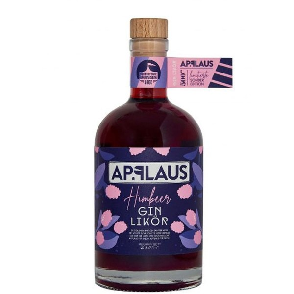 Applaus Himbeer Gin Likör 20,5% 0,5l