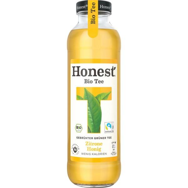Honest Grüner Tee mit Honig & Zitrone 24x 0,33l Mehrweg